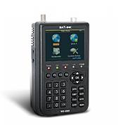 Medidor de Campo e Satélite Combinando DVB-T & DVB-S WS6909