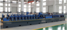 Linha de máquina para fabricar tubo soldado