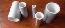 Tubo revestido de plástico em liga de alumínio