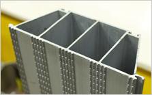 Perfis Extrudados de Alumínio para Dissipadores de Calor