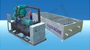 Máquinas para produção de blocos de gelo