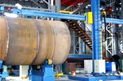 Fabricação/montagem de vaso de pressão e torre eólica