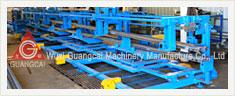Perfiladeira de rolos para rails de proteção de aço