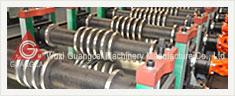 Perfiladeira de rolos para chapas de silos ondulados de montagem GWC14.5-80-1120
