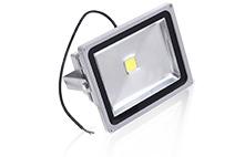 Holofote LED RGB  (de cor única)