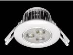 Spot de embutir LED para teto com aleta de refrigeração