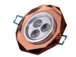 Spot de embutir LED de acrílico para teto