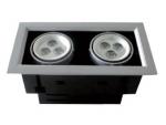 Spot de embutir LED (Cabeça dupla)