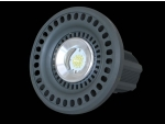 Lâmpada LED industrial em alumínio com aleta de refrigeração