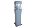 Lâmpada LED para gramados montada em coluna