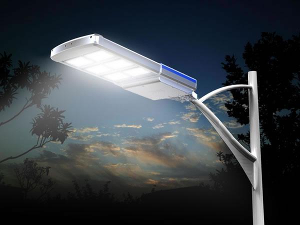 Lumin ria solar para ilumina o p blica - Lamparas led solares ...