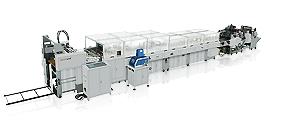 Máquina automática para fazer saco de papel com sistema de alimentação de folha ZB960C-330