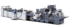 Máquina automática para fabricação de sacolas de papel ZB700C-240