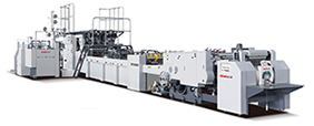 Máquina automática para fabricação de sacolas de papel ZB1080S-430