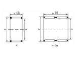 """<strong>Conjuntos de gaiola e rolos de agulhas</strong> para rolamentos radiais, série K""""></a></li> <li class="""